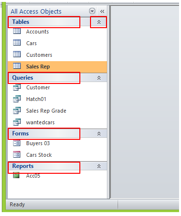 How To Use The Navigation Pane in MS Access