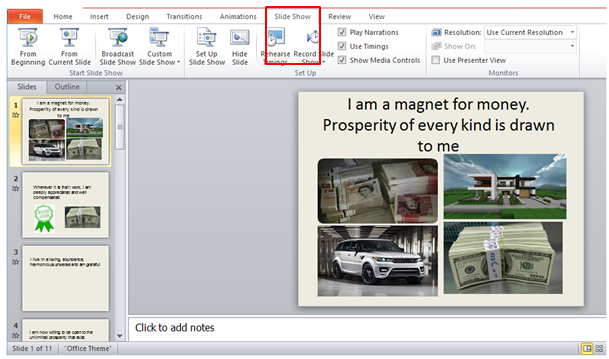 what is powerpoint views when and how to use views